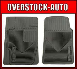 Husky Liner 51112 Heavy Duty Floor Mats Front GREY
