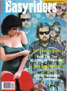 JUL 1982 EASYRIDERS MAGAZINE BELUSHI BIKES MANN POSTER