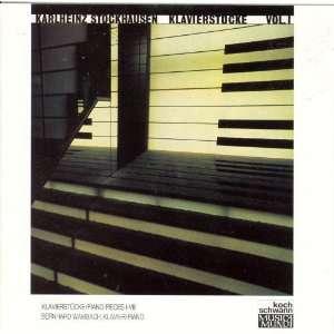 Karlheinz Stockhausen Klavierstücke (Piano Pieces) I