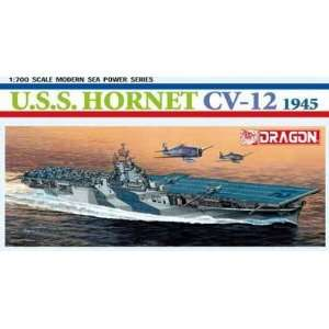 USS Hornet CV12 Aircraft Carrier 1945 1 700 Dragon Toys