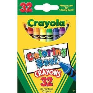 Coloring Book Crayons 32ct Toys & Games