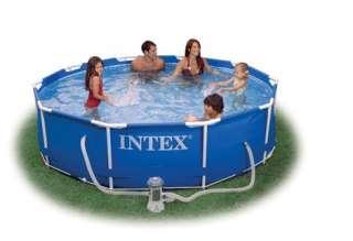 Intex Metal Frame Swimming Pool 12ft x 30 deep   NEW