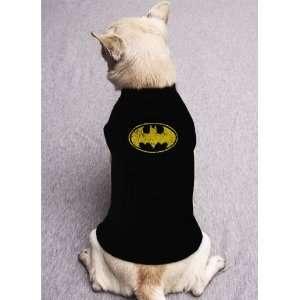 BATMAN SYMBOL dark knight begins hero movie DOG SHIRT SIZE