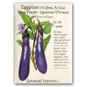 Eggplant Long Purple Seed Patio, Lawn & Garden
