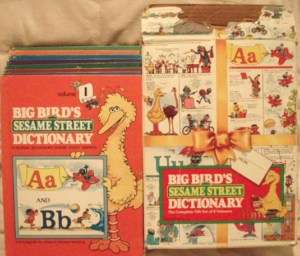 Bird Sesame Street Complete 1 8 Volume Dictionary 077731135103