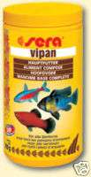 sera Vipan Tropical Fish Flake Food 1000 ml AQUARIUM