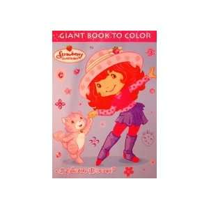 Shortcake Giant Book to Color Wanna Dance? Creative Edge Books