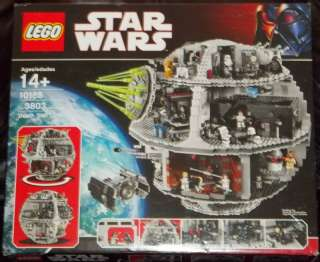 lego STAR WARS 10188 HUGE DEATH STAR PLAYSET MISB scn
