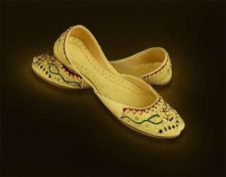 Women Party Belly Dance Khussa Wedding Nagra Shoes