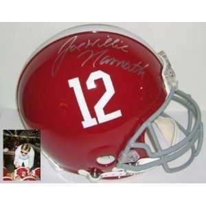 Autographed/Hand Signed Alabama Crimson Tide authentic ProLine Helmet