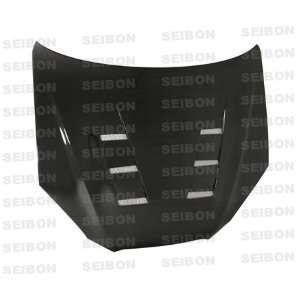 SEIBON CARBON FIBER HOOD TS HD0809HYGEN2D TS: Automotive