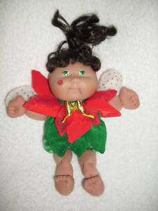 CPK CABBAGE PATCH 8 POINSETTA GaRDeN FaiRy DoLL