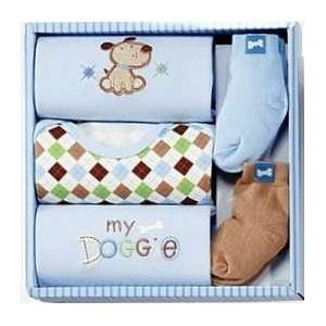 Cutie Pie Baby Boy 5 Piece Gift Set Baby
