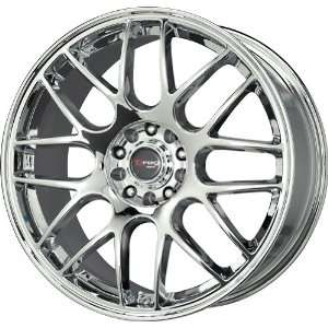 Drag D34 Chrome Wheel (17x7.5/5x100mm) Automotive