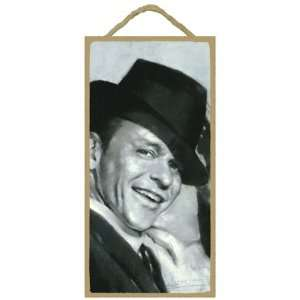 Wall Sign Plaque   Black & White Classic Frank Sinatra: Home & Kitchen