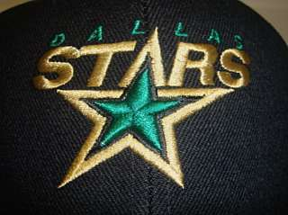 New NHL Dallas Stars Snapback Cap Embroidered logo on Black Snap back