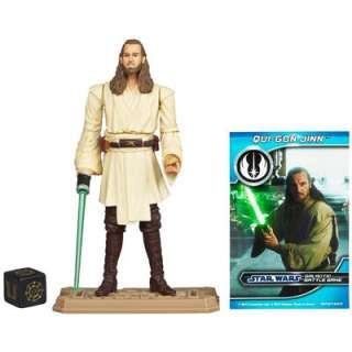STAR WARS Saga Legends Movie Heroes MH18 Qui Gon Jinn EP1 ELECTRONIC