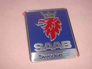 SAAB SPORT Emblem Sticker Decal BADGE WATER PROOF NEW