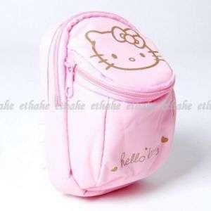 Hello Kitty Mini Waist Fanny Bag Purse Carabiner Pouch