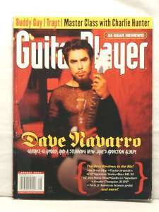 GUITAR PLAYER MAGAZINE DAVE NAVARRO BUDDY GUY TRAPT CHARLIE HUNTER ESP