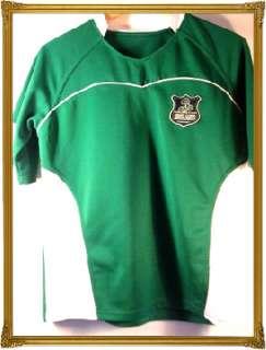 IRELAND EIRE IRISH JERSEY LARGE BOYS RUGBY SHIRT 88/86cm