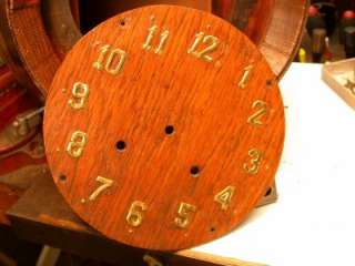 ANTIQUE BEER BARREL CLOCK 8 DAY & STRIKE ON BELL |