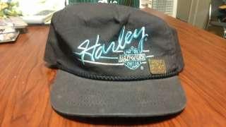 Vintage Harley Davidson Snapback Hat With 1998 Sturgis Pin