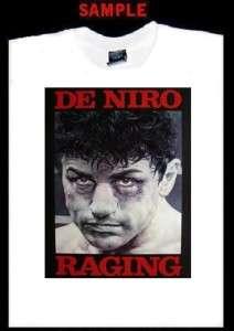 RAGING BULL CUSTOM PHOTO T SHIRT TEE de niro 1469