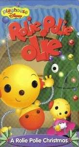 VHS DISNEYS RLIE POLIE OLIEROLIE POLIE CHRISTMAS