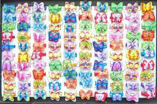 FREE wholesale lots 100pcs mixed butterfly animal FIMO charm Fashion