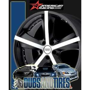 American Racing wheels wheels PHANTOM Matte Black Machined wheels rims