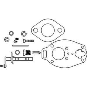 801 Ford Tractor Carburetor Diagram