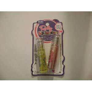 2 LIP SMACKERS ROLLY # 608 COOKIE DOUGH PINK VANILLA