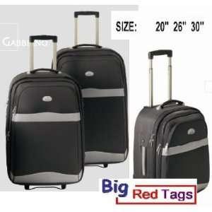 BLACK Rolling Travel Luggage Set 3PC duffel bag