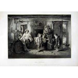 1866 ART JOURNAL ORPHAN CHILDREN HOUSE BABY FAMILY FAED