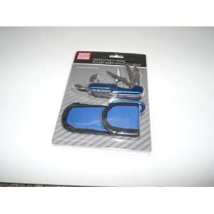 11 Tool Pocket Knife with LED Light and Carrying Case
