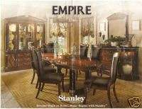 Empire Furniture Dining Room Set Table Chairs Cabinet Mirror NICE