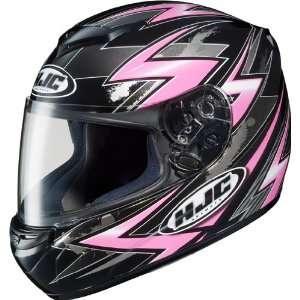 HJC CS R2 Thunder Full Face Motorcycle Helmet MC 8 Pink Extra Large XL
