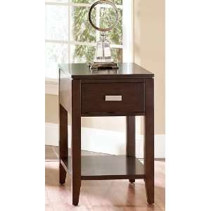 Klaussner Home Furnishings Modern Luxe End Table