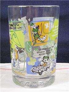 Disney World 100 Years Of Magic McDonalds Goofy Glass