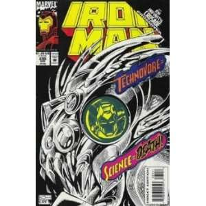 Iron Man, Vol. 1, No. 295, Aug 1993 John Byrne Books