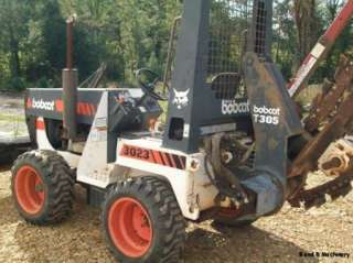 Bobcat 3023 Trencher Ditch Witch W/239 Hours!