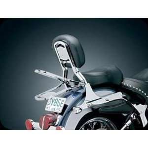 Kuryakyn 1529 Fold Down Luggage Rack For Harley Davidson Automotive