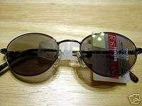 Foster Grant Gun Metal Reading Sunglasses +2.75 Oval