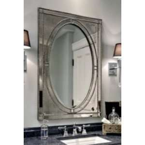 Extra Large VENETIAN Rectangle Beaded Wall Mirror: Home