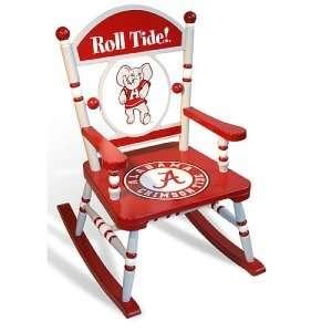 Alabama Crimson Tide NCAA Rocking Chair