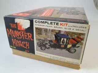 Koach Car Model Kit Monster Hot Rod Drag Racing Munsters