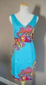 NEW Lilly Pulitzer Kiki Blue Dress Engineered 0/2/4/6