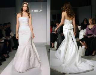 Silk Lace Mermaid Wedding Dress Jim Sash mdl# Hjelm 715
