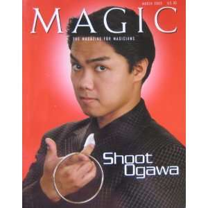 : MAGIC, THE MAGAZINE FOR MAGICIANS, March 2003: John Moehring: Books